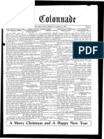 The Colonnade - December 17, 1929