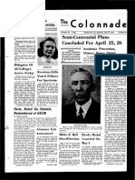 The Colonnade - April 19, 1941