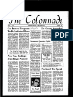 The Colonnade - April 6, 1972
