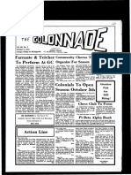 The Colonnade - October 6, 1972