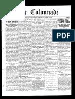 The Colonnade - November 29, 1930