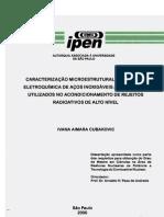 CARACTERIZAÇÃO MICROESTRUTURAL, MECÂNICA E