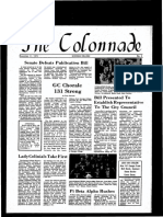 The Colonnade -  November 11, 1971