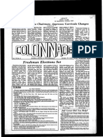 The Colonnade -  October 29, 1970