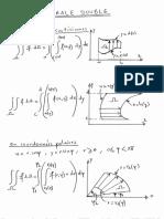Formulaire Integrale Double