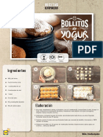 Receta Express Bollitos Yogur