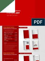 Precos Formatos Jornal Correio 2017