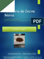 Recetario de Cocina Básica