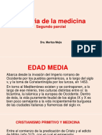 Historia de La Medicina. Segundo Parcial