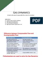 Unit 1 Fundamentals of Comperrsible Flow