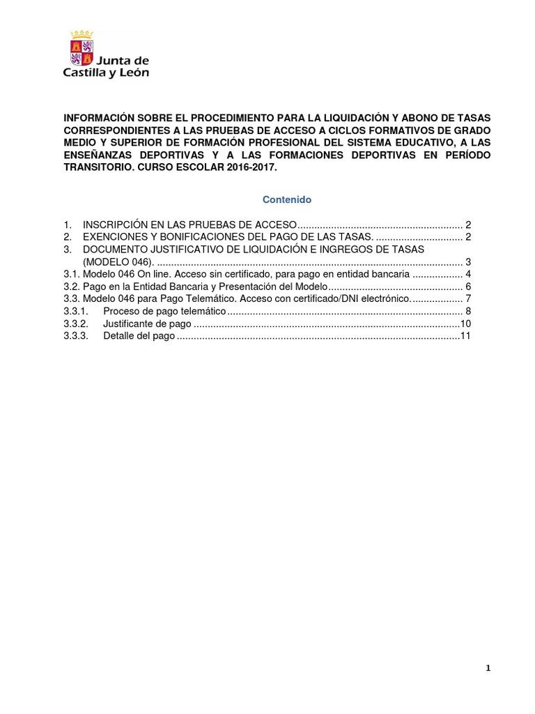 2017 Informacion Tasas Pruebas De Accesox 1