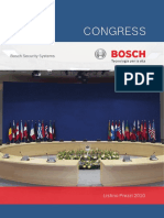 CONGRESS. Bosch Security Systems