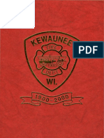 Kewaunee WI Fire Department 1900-2000