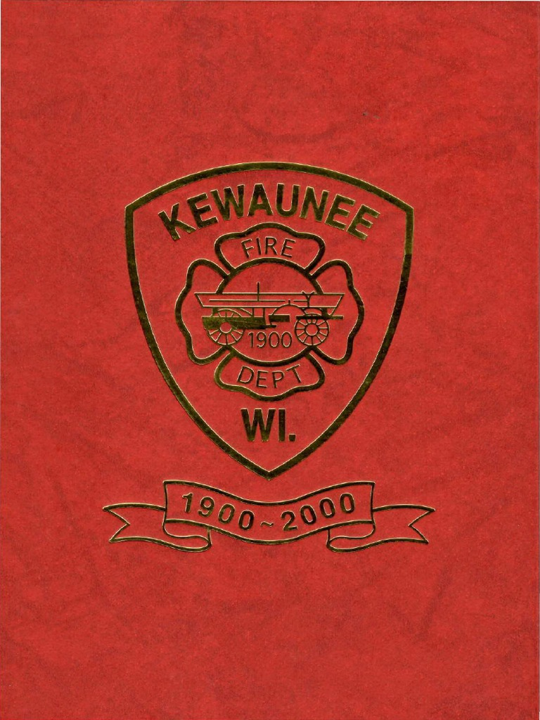 Kewaunee WI Fire Department 1900-2000 | Steamboat | Boiler