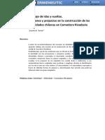 Construcción de Las Identidades Chilenas en Comodoro