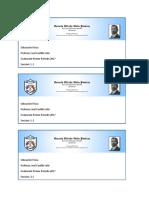 Etiqueta Para Folder