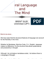 Natural Language and Mind