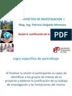 Sesion 6 Justificación Del Proyecto - Copia
