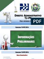 TJPE - DADM - Tema 1 - Organização Administrativa