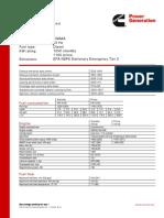 Generator Set Data Sheet Dqgaa