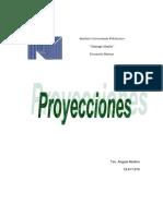 Semántica de Los Términos Sobre Las Proyecciones Ortogonales