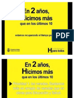 Dos años de Macri