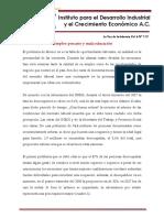 Mercado Laboral y Educación en México - InFORME IDIC 12 Febrero 2018
