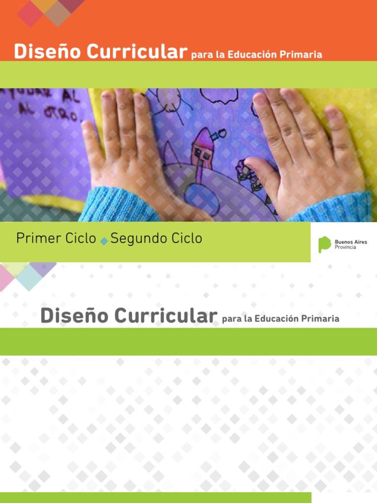 NUEVO Diseño Curricular-(2018) Primaria -Los Dos Ciclos