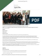 Young Professionals Program (YPP)