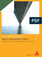 Sika Ferrogard 903 Concrete Corrosion Inhibitor Brochure 0415 Nz