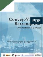 Informe Concejo Barranquilla