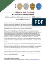 Decanter New Zealand International Trophies Press Release