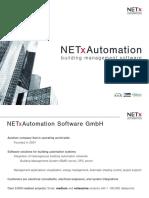 Product Data Sheet NETx BMS Server