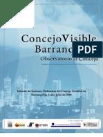 Informe Concejo Barranquilla Julio-Julio 2010