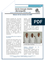 Concejo Visible Boletin Diciembre 2010