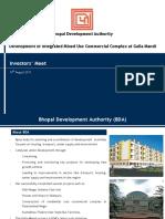Investors Meet BDA 10 August 2011