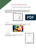 Elemento de Las Artes Plasticas