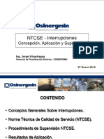 Supervision NTCSE Calidad Suministro