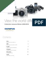 Olympus LineUp Brochure 09-10