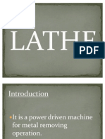 Lathe Machine Presentation