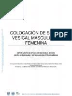 Colocacion de Sonda Vesical Masculina y Femenina