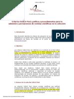 Criterios SciELO Perú
