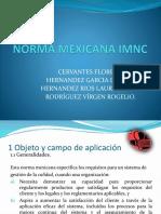 Norma Mexicana Imnc Part 1