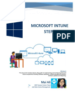 Microsoft Intune Step by Step eBook | Mobile App | Office 365