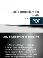 Solid Propellant for Missile