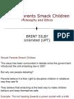 Smacking Children