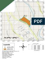 MAPA de la zona de afectación del zoo