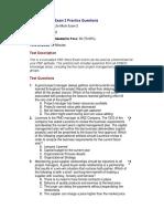 PMP Lite Mock Exam 2 Questions