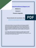 Modulo 21 | M21S4 Pi Democratizacion Del Conocimiento