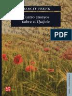 Frenk_cuatro Ensayos Sobre El Quijote